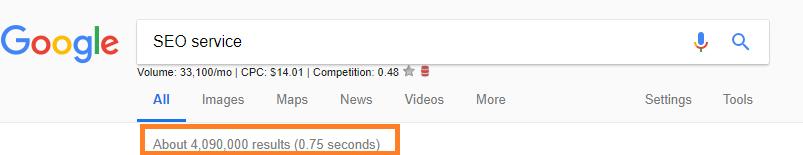 Google search SEO Service